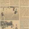 Articles de presse septembre 1982 et 1983