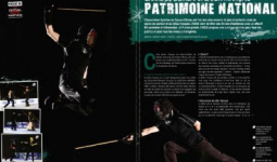 L'ASCA, le bâton français et la canne de combat dans Karate Bushido